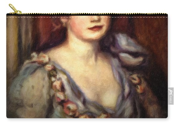 Woman With A Fan After Renoir Carry-all Pouch
