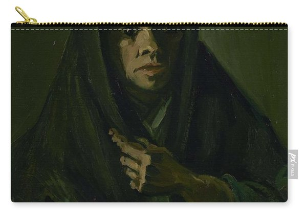 Woman With A Mourning Shawl Nuenen, March - May 1885 Vincent Van Gogh 1853 - 1890 Carry-all Pouch