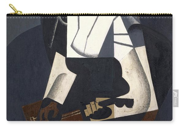 Woman With Mandolin Carry-all Pouch