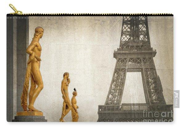 Women Of Paris Carry-all Pouch