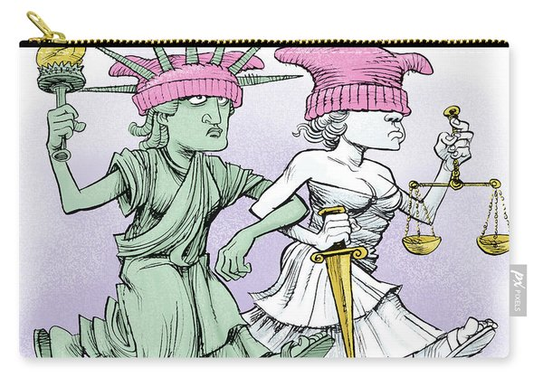 Women's March On Washington Carry-all Pouch