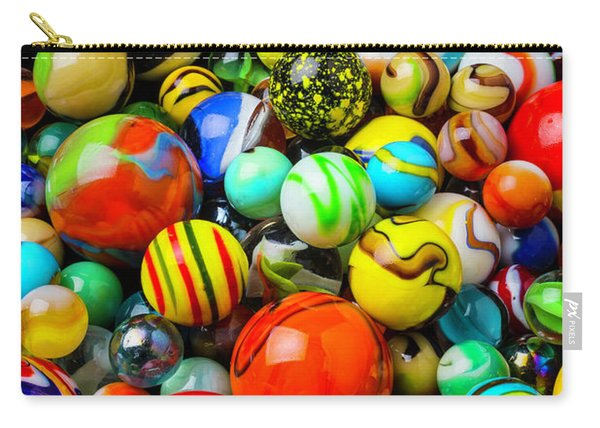 Wonderful Colored Marbles Carry-all Pouch