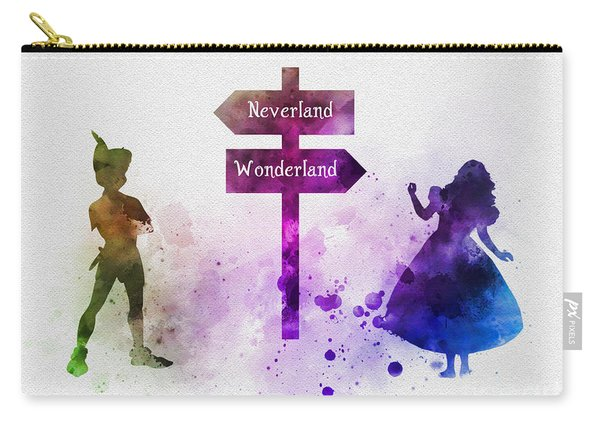 Wonderland Or Neverland Carry-all Pouch