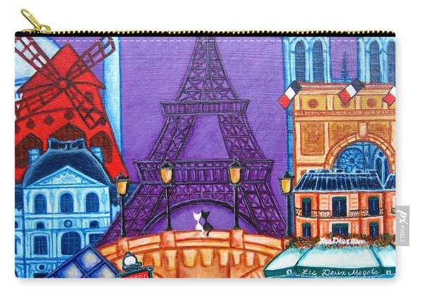 Wonders Of Paris Carry-all Pouch