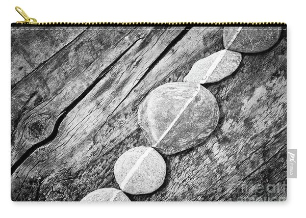 Wood And Stones Carry-all Pouch