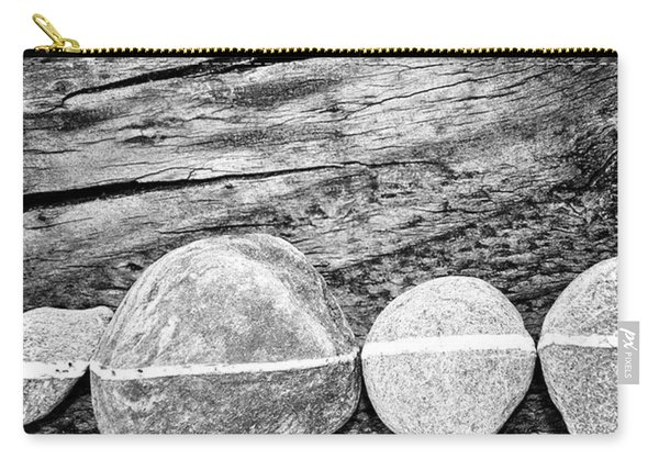 Wood And Stones - Vertical Carry-all Pouch