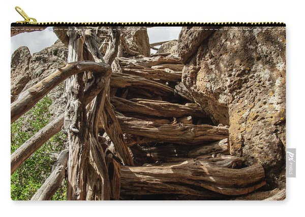 Wooden Ladder Carry-all Pouch