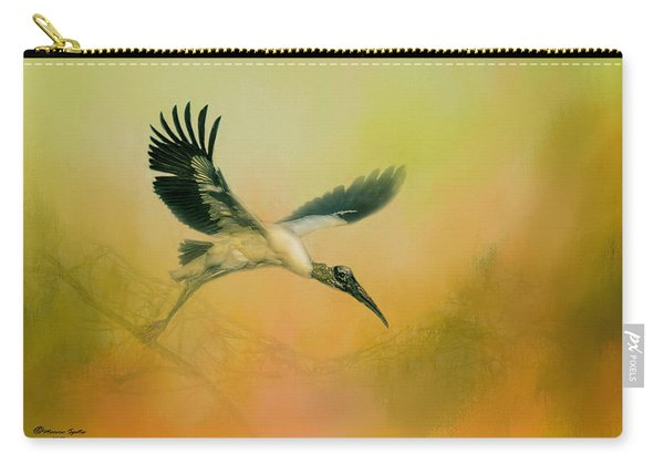 Wood Stork Encounter Carry-all Pouch