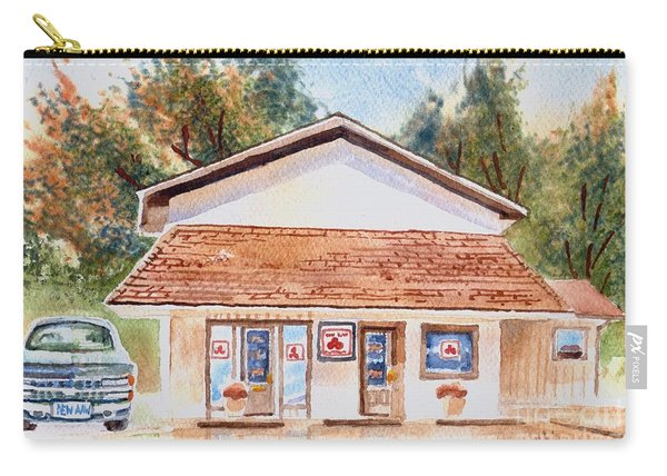 Woodcock Insurance In Watercolor  W406 Carry-all Pouch