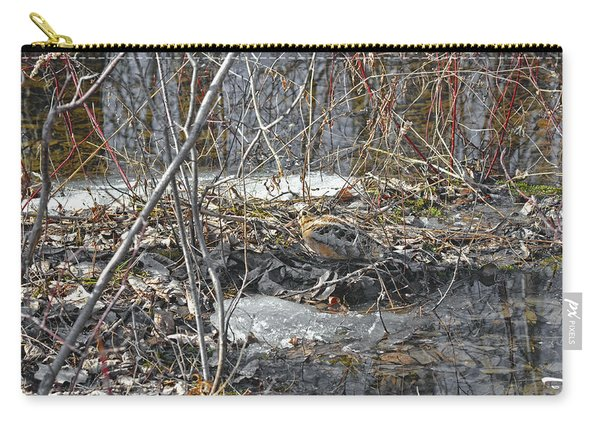 Woodcock's View Of The Forest Carry-all Pouch
