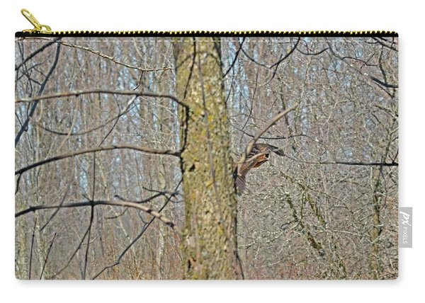 Woodcock's View Of The Forest, In-flight Carry-all Pouch