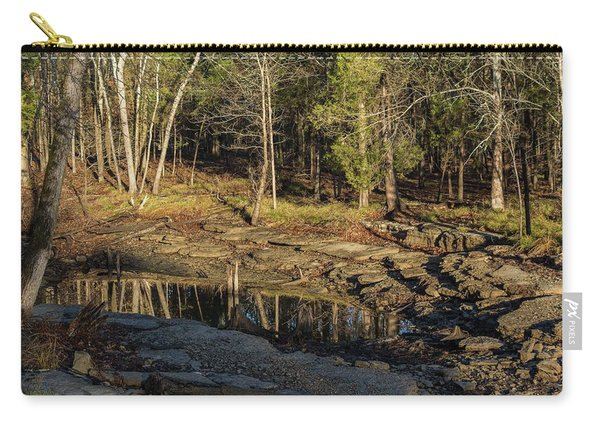 Wooded Backwash Carry-all Pouch