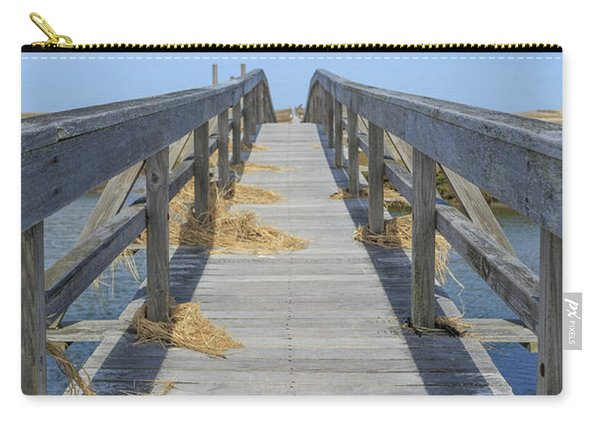 Wooden Bridge Across The Dunes Carry-all Pouch