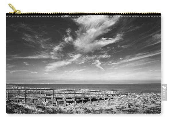 Wooden Bridge To The Sea Carry-all Pouch