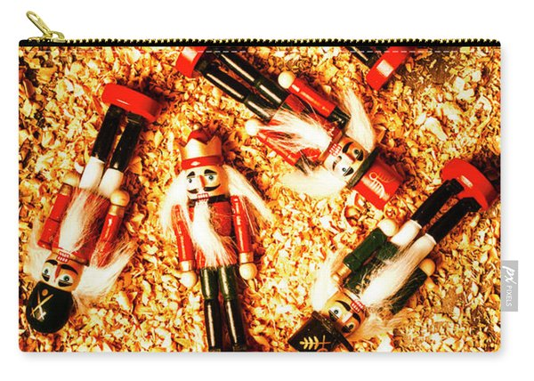 Wooden Toy Soldiers Carry-all Pouch