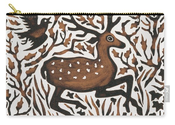 Woodland Deer Carry-all Pouch