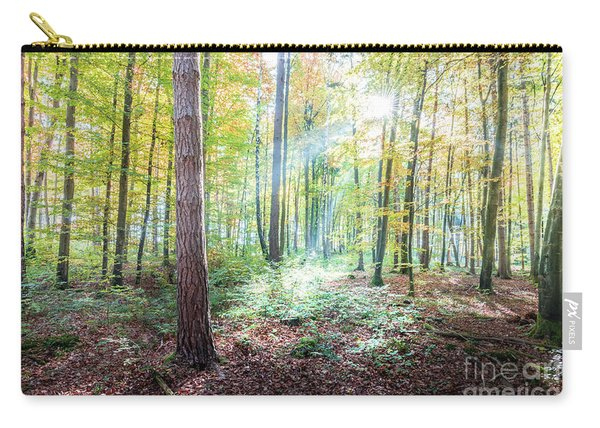 Woodland In Fall Carry-all Pouch
