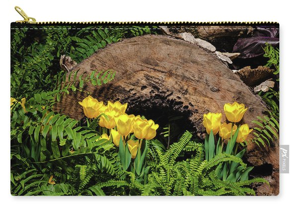 Woodland Tulip Garden Carry-all Pouch