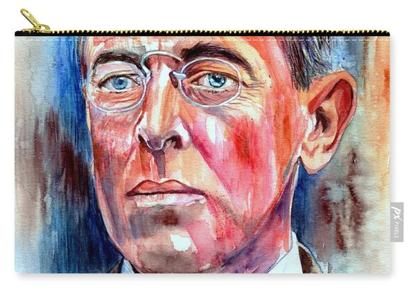Woodrow Wilson Painting Carry-all Pouch