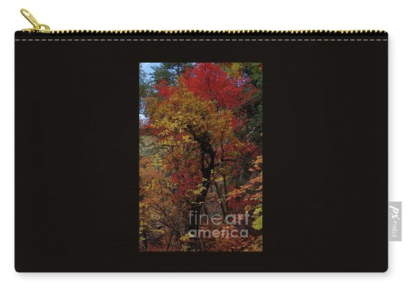 Woods In Oak Creek Canyon, Arizona Carry-all Pouch