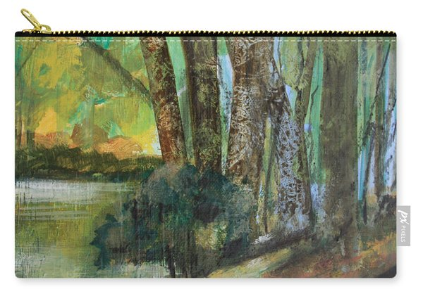 Woods In The Afternoon Carry-all Pouch