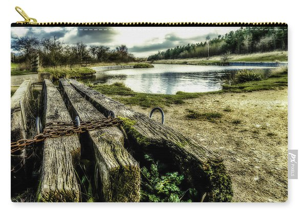 Carry-all Pouch featuring the photograph Woodside by Nick Bywater