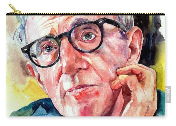 Woody Allen Portrait Painting Carry-all Pouch