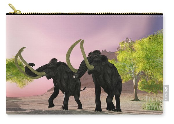 Woolly Mammoth Morning Carry-all Pouch