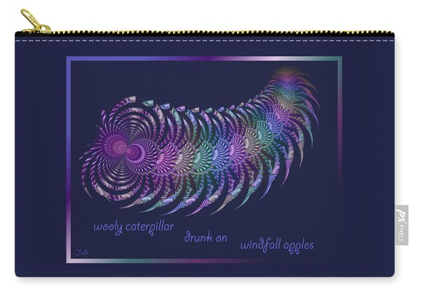 Wooly Caterpillar Haiga Carry-all Pouch