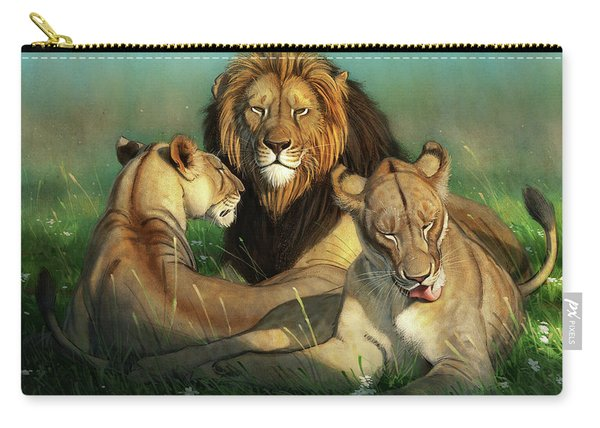World Lion Day Carry-all Pouch