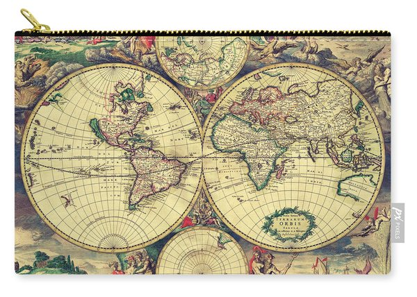 World Map 1689 Carry-all Pouch