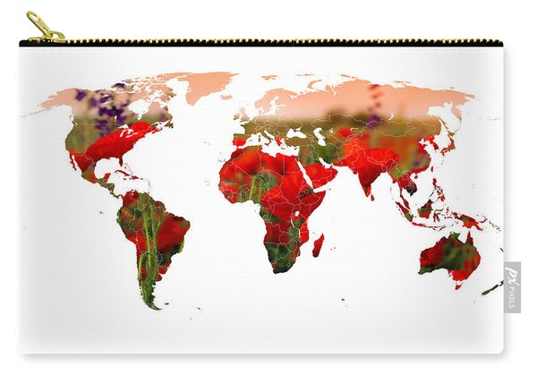 World Of Poppies Carry-all Pouch