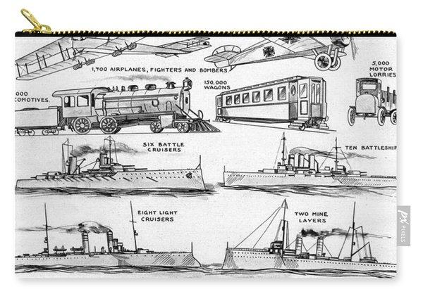 World War I: War Material Carry-all Pouch