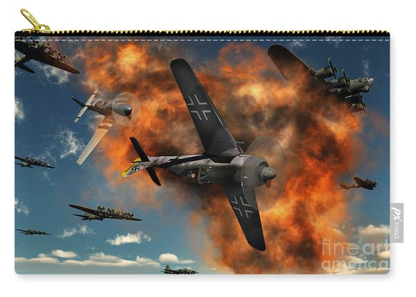 World War II Aerial Combat Carry-all Pouch