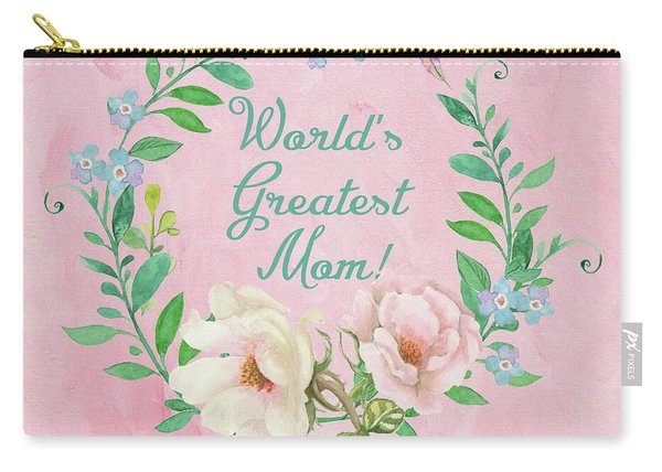 World's Greatest Mom Carry-all Pouch
