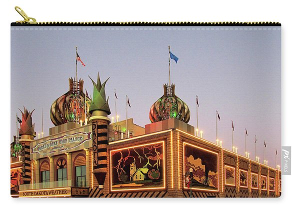 World's Only Corn Palace 2017-18 Carry-all Pouch
