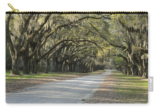 Wormsloe Entrance Road Carry-all Pouch