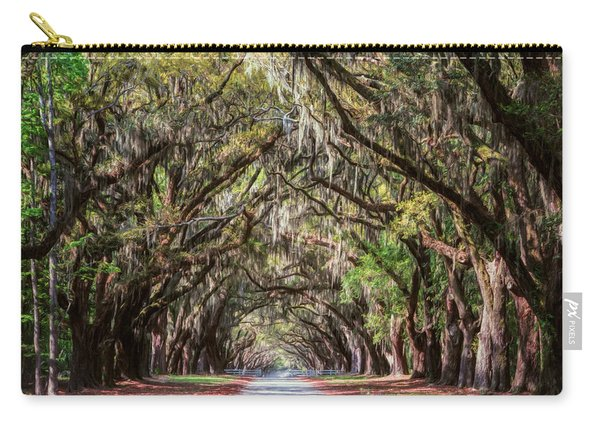 Wormsloe Plantation Oaks Carry-all Pouch