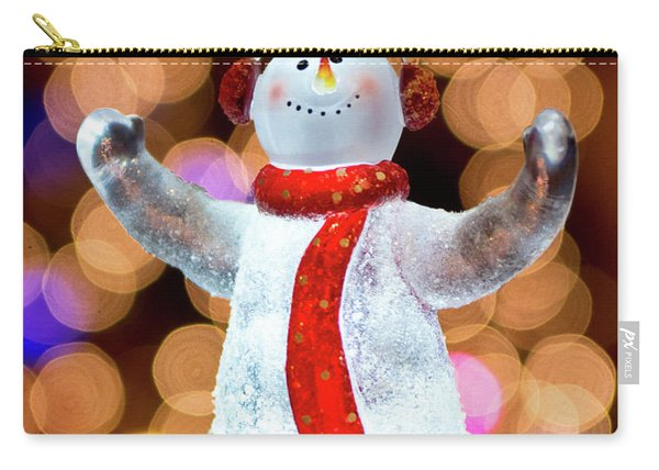 Worshiping Snowman Carry-all Pouch