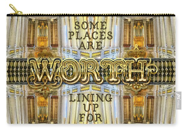 Worth Lining Up For Versailles Palace Chapel Paris Carry-all Pouch