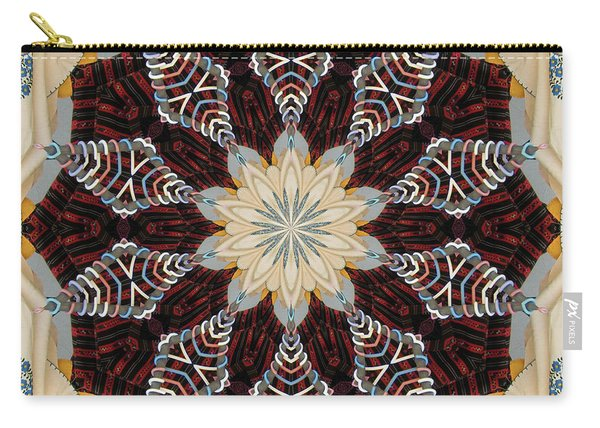 Woven Beauty Carry-all Pouch