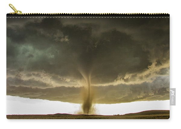 Carry-all Pouch featuring the photograph Wray Colorado Tornado 060 by NebraskaSC