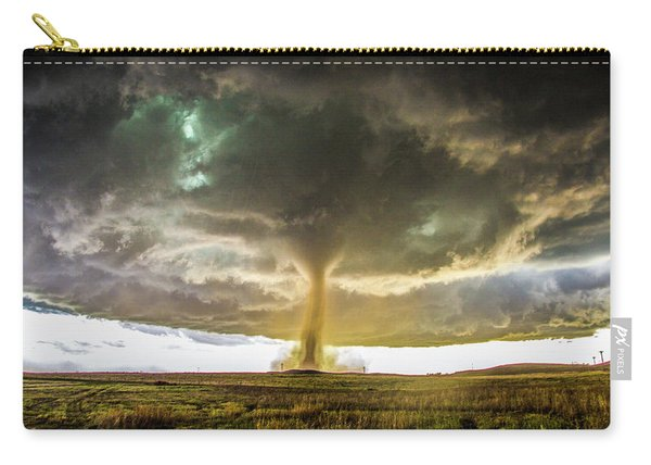 Carry-all Pouch featuring the photograph Wray Colorado Tornado 070 by NebraskaSC