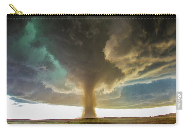 Carry-all Pouch featuring the photograph Wray Colorado Tornado 079 by NebraskaSC