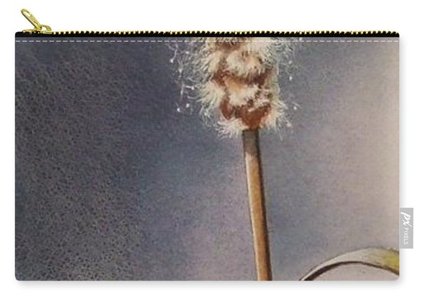 Wren And Cattails Carry-all Pouch