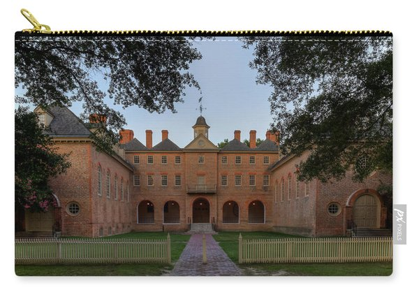 Wren Building At Dusk Carry-all Pouch