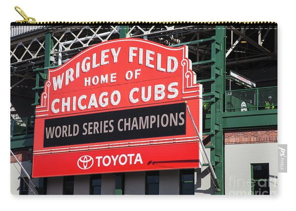 Wrigley Field Marquee Carry-all Pouch