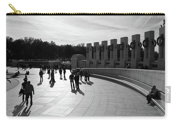 Wwii Memorial Carry-all Pouch