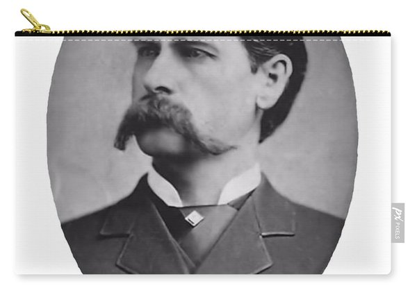 Wyatt Earp Autographed Carry-all Pouch