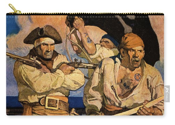 Wyeth: Treasure Island Carry-all Pouch